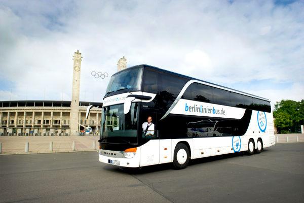 Berlinlinienbus Olympiastadion